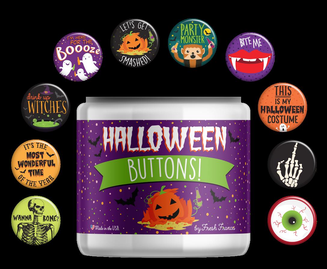 Halloween Buttons