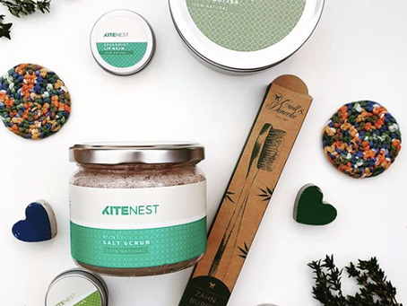 100% Natural Beauty Products: KiteNest