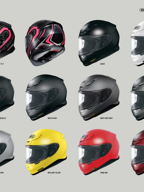 Shoei NXR Collection