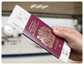 Online check-in add passport details