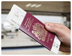 Online check-in add passport details