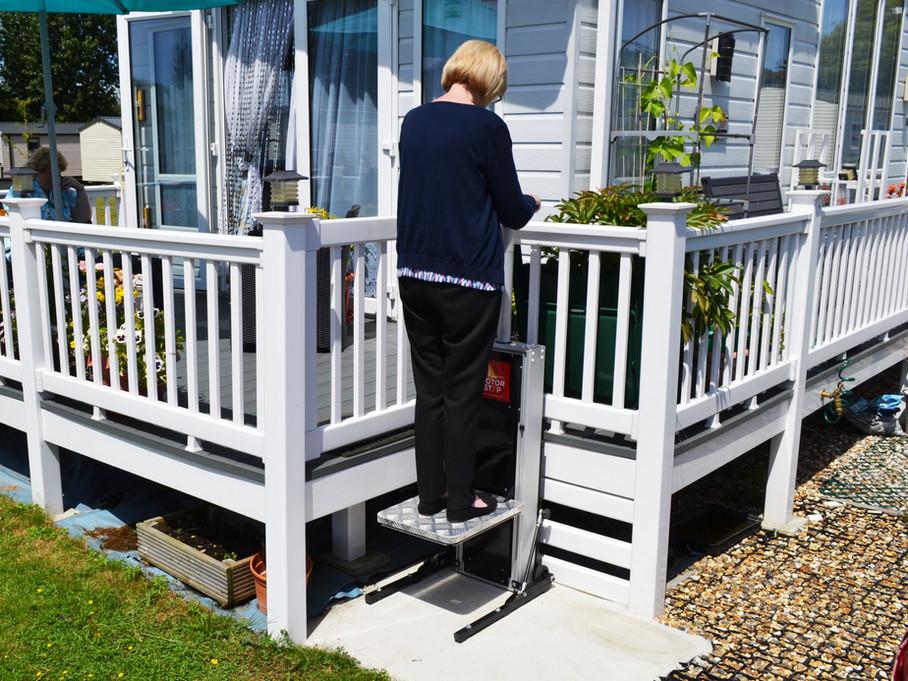 Motorstep static home step lift.