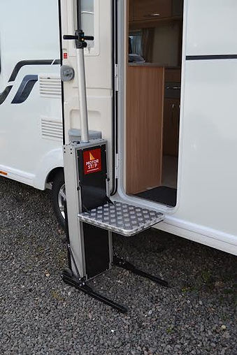 motor home steps, disabled steps fr caravan and motorhome