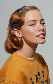Portrait of a Retro Girl