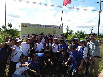 チーク植林in Myanmar 第2回ヤンゴン管区