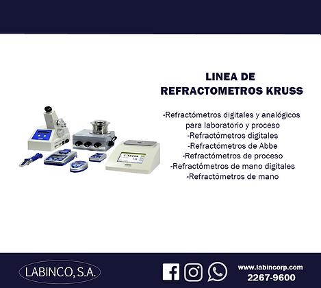 Linea de Refractometria Kruss