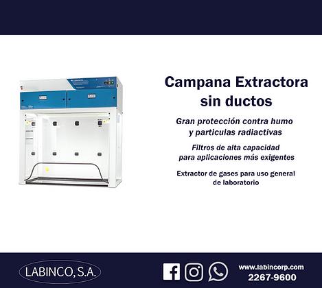 Campana extractora sin ductos