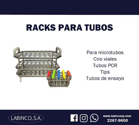 Racks para tubos