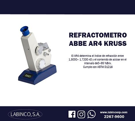 Refractometro AR4