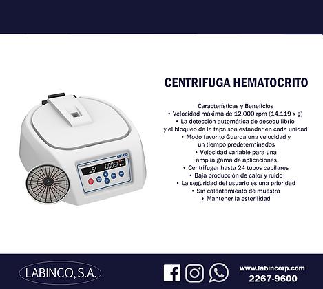 Centrifuga Hematocrito