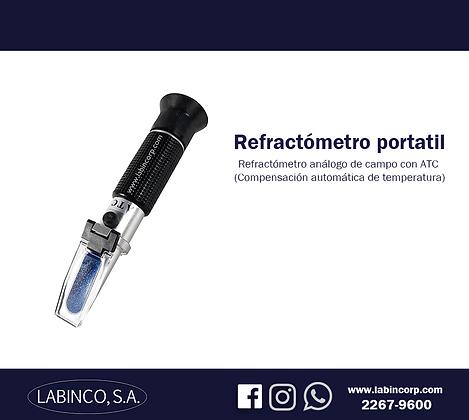 Refractómetro portatil