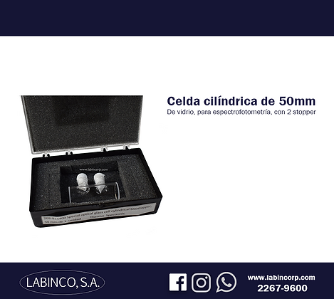 Celda cilíndrica de 50mm