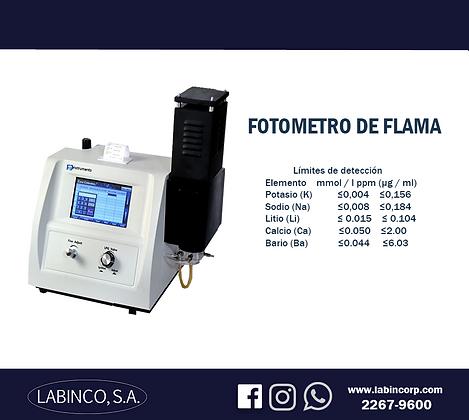 Fotómetro de flama