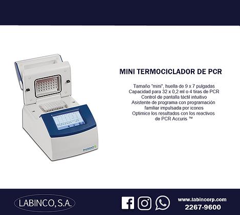 Mini termociclador de PCR