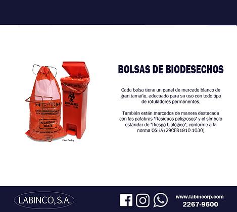 Bolsas de Biodesechos