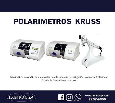 Linea de Equipo polarimetro