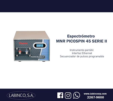 Espectrómetro MNR Picospin 45 Serie II