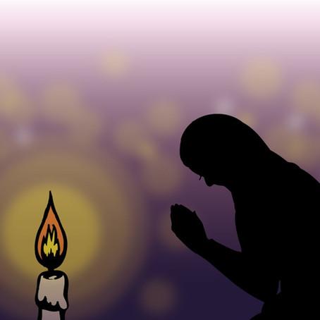 【連載】切り絵でみる仏教説話 No2.貧者の一灯