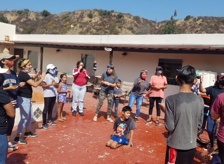 Casa Horizonte Outreach by Bible College Students
