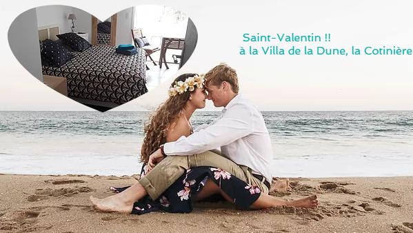 St Valentin !! séjour en Amoureux, plage, jaccuzi, massages...