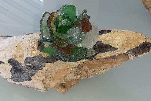 Rose sur bois flotté - 3