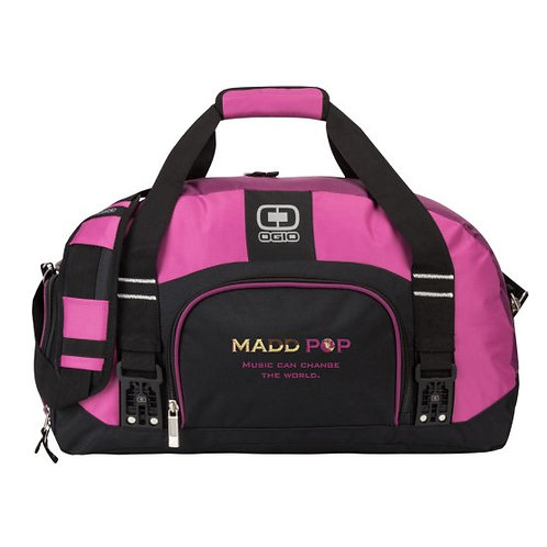 Madd Pop Embroidered Duffle Bag