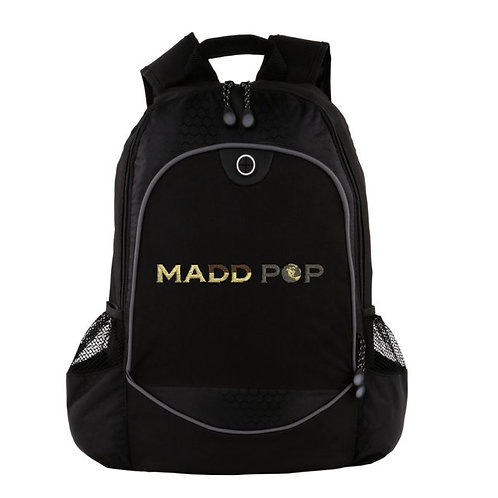 Madd Pop Embroidered Heavy Duty Backpack