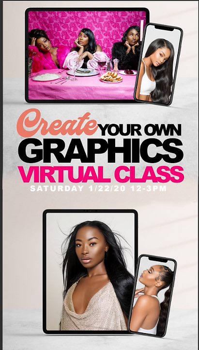 """22 """"CREATE YOUR OWN"""" GRAPHICS CLASS"""