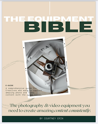 The Equipment Bible