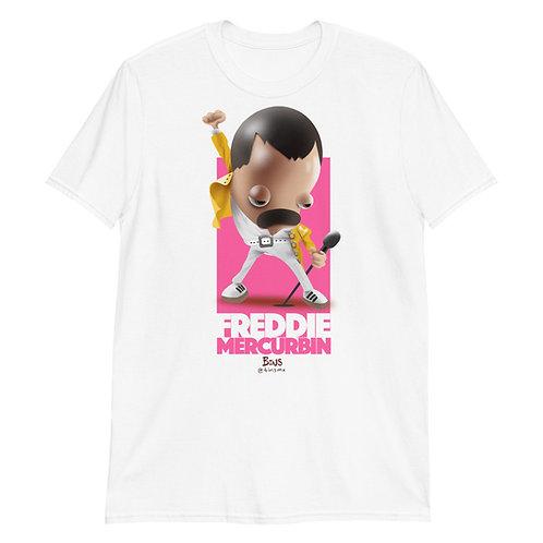 Freddie Mercurbin - Short-Sleeve Unisex T-Shirt