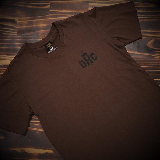 Mens Brown Badge T-Shirt