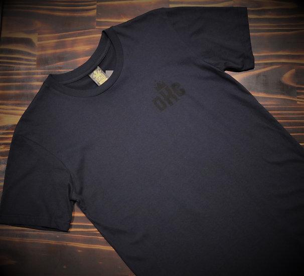 Mens Navy Badge T-Shirt