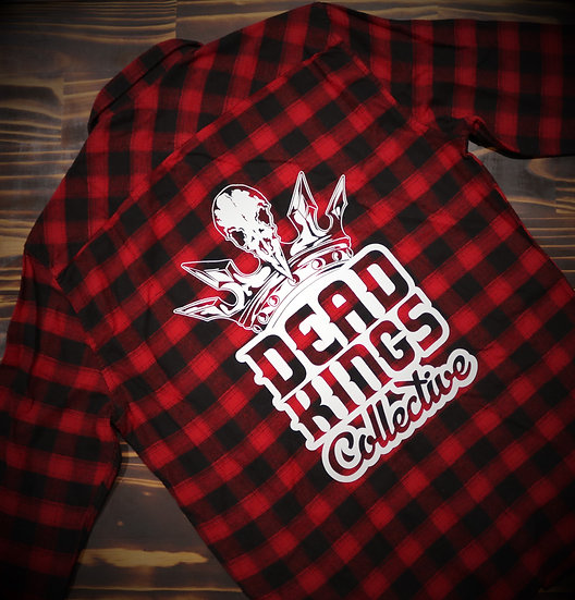 Limited Edition Unisex Red Badge Flanno
