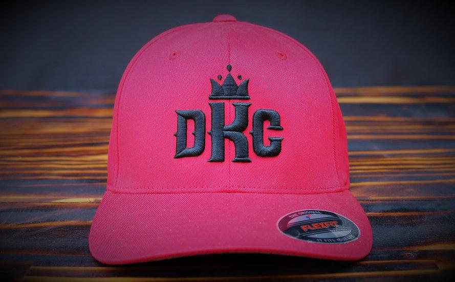 Dead Kings Black on Red Flexfit Cap