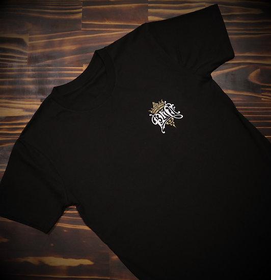 Mens Black Banner T-Shirt