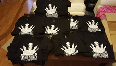 First run of Dead Kings Collective Shirts