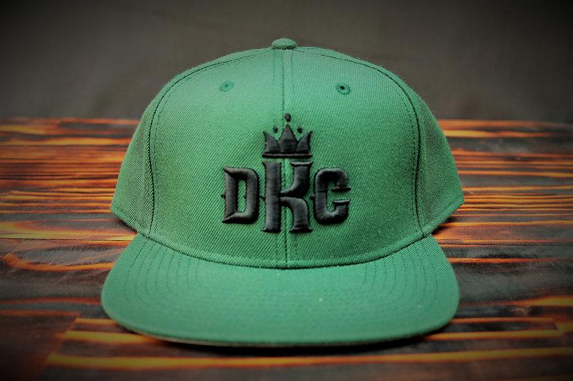 Dead Kings Black on Green Snapback