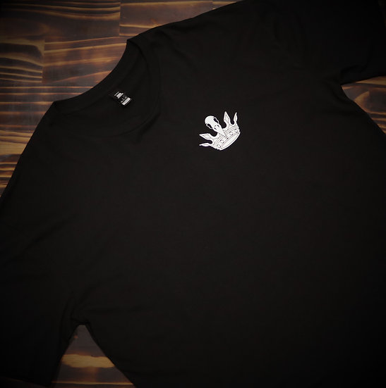 Mens Black Graffiti T-Shirt
