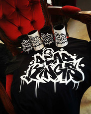 Dead Kings Collective shirts and stubby holders