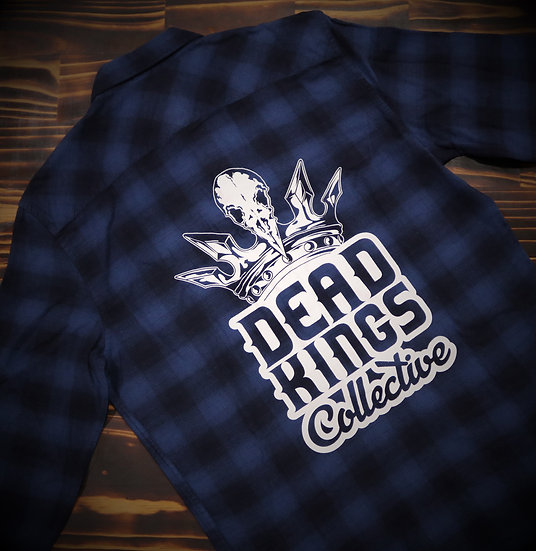 Limited Edition Unisex Blue Badge Flanno