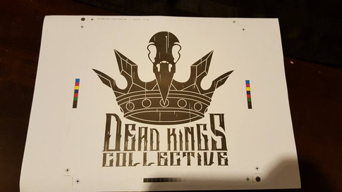 Dead Kings Collectives first shirt design