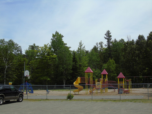 Playground Next to Rental