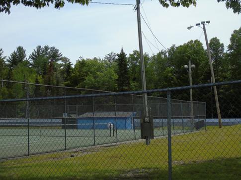 Tennis Court and Basket Ball Court