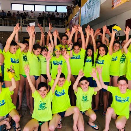 SPORTER esordienti A 4ª prova trofeo nuota Sardegna