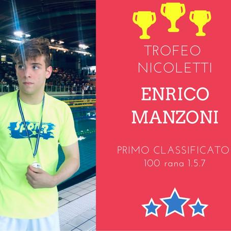 ENRICO MANZONI  1° 100 rana junior  1.5.7