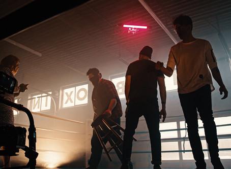 "Behind the Scenes - Ventresca ""Me vs You"" Camozzi Films Music Video"