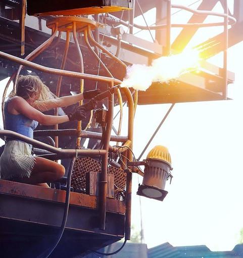 Stunt Performer Michelle Andrews