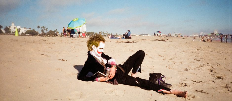 Joker on the Beach