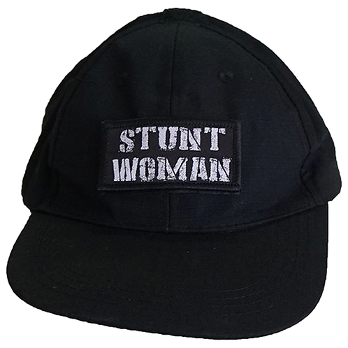 Stunt Woman Hat (Black or Camo)