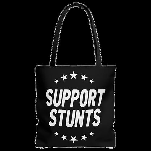 Support Stunts Tote Bag